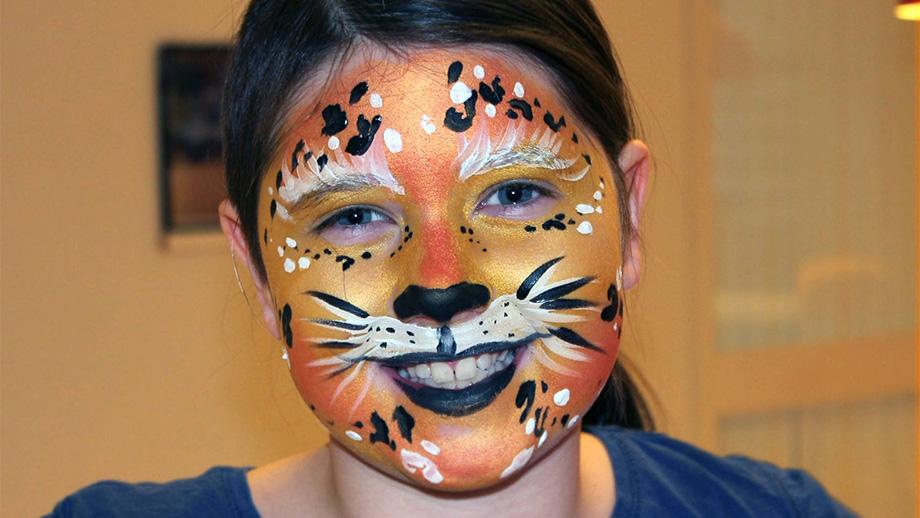 Ansiktesmalning - tiger
