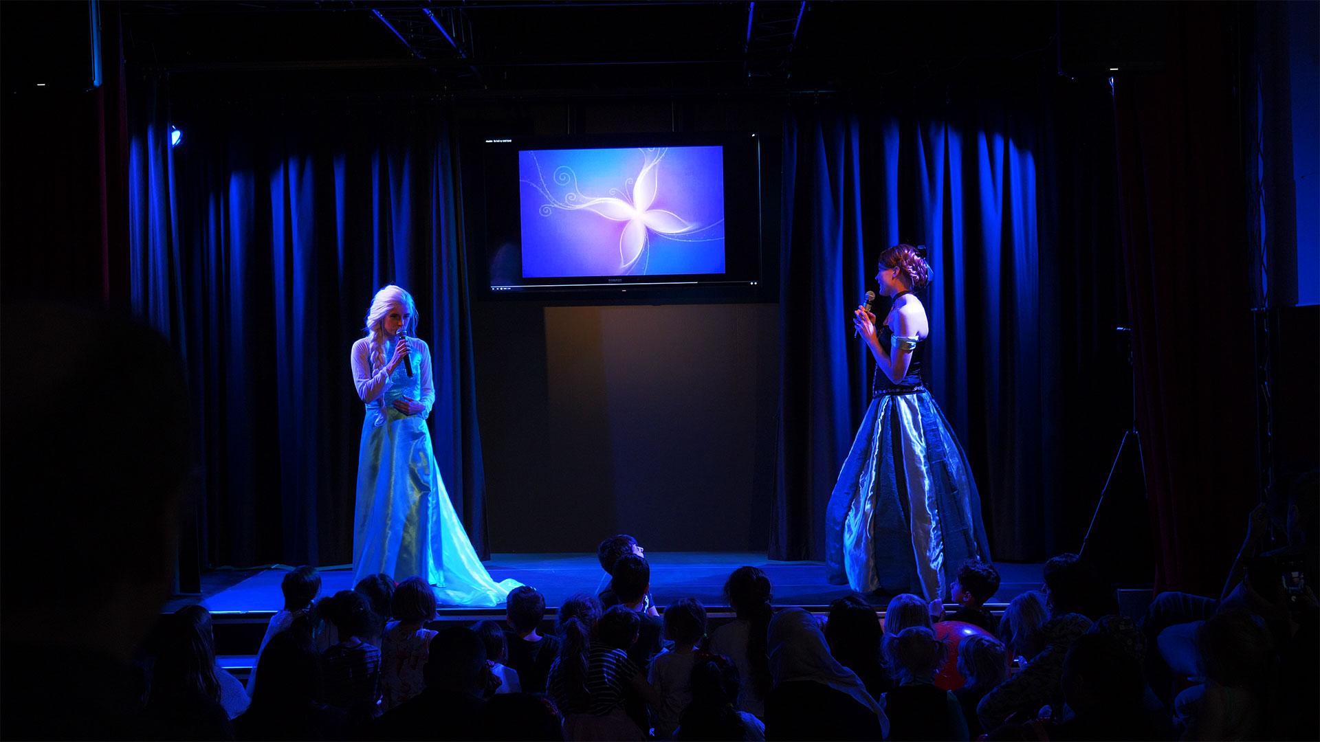 Sångstund med Elsa från Frost 24/10